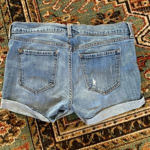 Old Navy Shorts - Mid-Rise Distressed Denim Jean Shorts